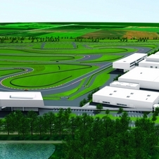 The Driving Experience Center will cover 47 hectares when completed