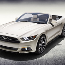 Ford Mustang 50 Year Limited Edition Convertible