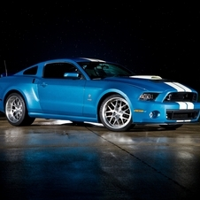 The Mustang in Shelby guise has been boosted up to 850hp