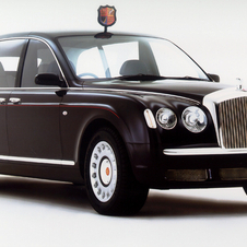 Bentley provided the Queen's limousine in 2002
