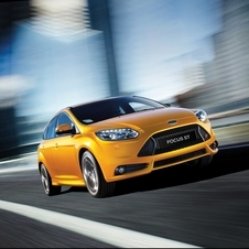 The Focus ST gets the 2.0-liter EcoBoost