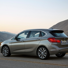 The new 2 Series Active Tourer will be available at launch with an option of three engines