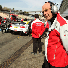 Dr. Ullrich viewing the DTM during testing