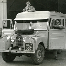 Land Rover Series I Expedition Vehicle