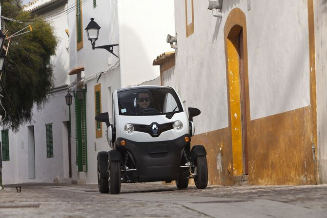 Renault Twizy Intens Red