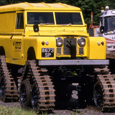 Land Rover Series II 109 Cuthbertson