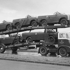 Land Rover Series II Transporter