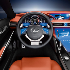 Lexus Debuts LF-CC Concept and LS for Europe in Paris