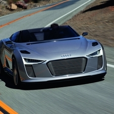 It also created an e-tron roadster.