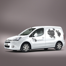The electric Berlingo is targeted at commercial customers looking to lower their CO2 footprint