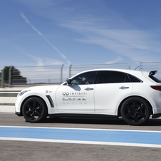 Vettel started working with Infiniti on the FX Vettel Edition
