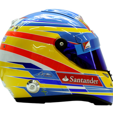 A Fernando Alonso helmet will also be on sale