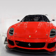 The 599XX has a €1.35 million reserve