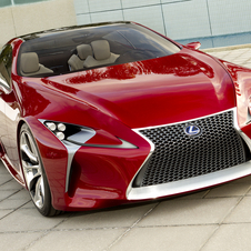 Unlike the LFA, it will be a sporty GT car, not a pure sports car