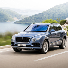 The Bentayga Diesel will be powered by the all-new triple-charged, 4.0-litre, 32-valve V8 engine with 435hp and 900Nm of torque