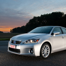 The Lexus CT200h is among the most fuel efficient luxury cars in the US with 43mpg city and 40mpg highway economy