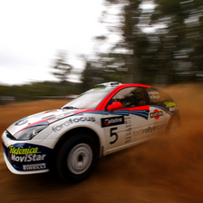 Colin McRae 2002 - Ford Focus - Action
