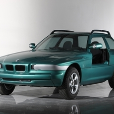 BMW even prototyped a coupe version of the car