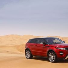 The Evoque is the best selling car in the Jaguar range