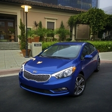 The new Forte was just revealed at the LA Auto Show