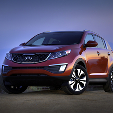 The Sportage has also just been updated