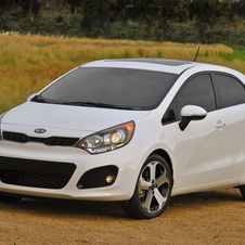 The Rio was the best selling Kia in the world in November