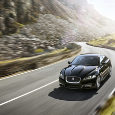 The XF R-Sport design receives a new sportier front bumper
