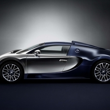 This is the sixth and last edition of the Bugatti Legends