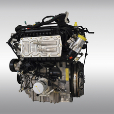 Ford says that the new engine will be roughly as powerful as the 1.6-liter EcoBoost