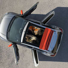 The new Citroën C1 gets a sunroof variant, just like the Peugeot 108