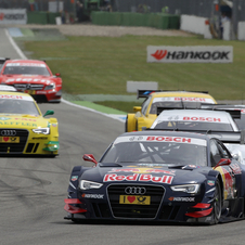 Audi is currently second in manufacturers' point and Ekstrom took third in the race