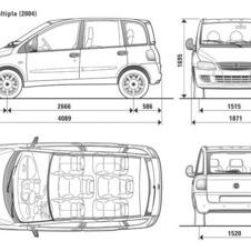 Fiat Fiat Multipla Dynamic Natural Power