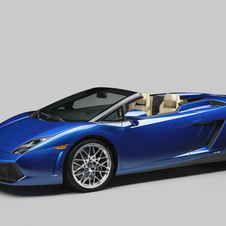 Lamborgini Brings Two-Wheel Drive Open-Top Fun to Gallardo