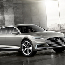 The third version of the Prologue concept car series is a high riding estate