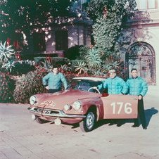 In 1959 Coltelloni Alexander Desrosier wins the Monte Carlo rally in a ID 19.