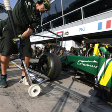 Caterham says that this is not the car that it is co-developing with Renault
