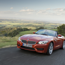 The biggest change to the new Z4 is the front end