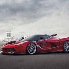 The FXX K is based on the LaFerrari and will be travelling around many worldwide circuits