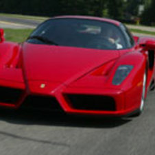 Ferrari built 400 Enzos from 2002 to 2004