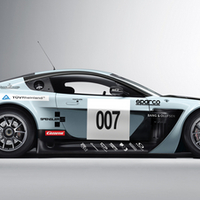 The Vantage GT3s will be driven professional race car drivers