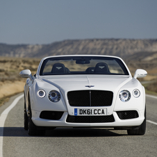 Bentley Continental GTC V8