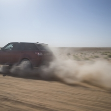 It is the first time that anyone has attempted to cross the desert in a fast time