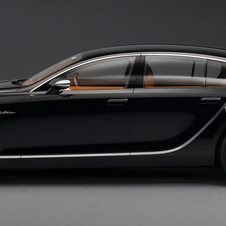 Bugatti has been teasing the Galibier since 2010