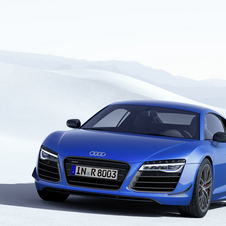 R8 LMX is the most powerful version ever of the German sports brand with 570hp