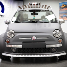 The Fiat 500 Beach Comber shows Mopar's widebody kit for the 500