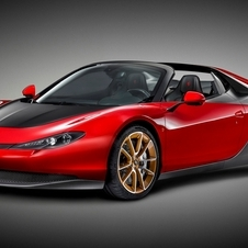 The name of the car pays tribute to Sergio Pininfarina