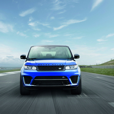 The Range Rover Sport SVR is the fastest, most dynamic and most powerful Land Rover model ever