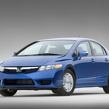 Honda Civic Hybrid CVT AT-PZEV