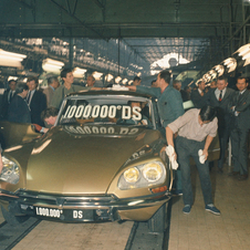 In 1969, 1.000.000 DS had been produced