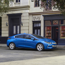 According to Chevrolet, the new Volt can reach 100 km/h in about 8.4 seconds